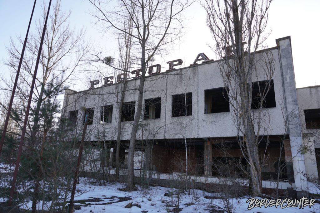 Verlassenes Gebäude in Tschernobyl